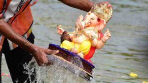 Thousands Of Devotees Come Together For Ganesh Visarjan In Maharashtra